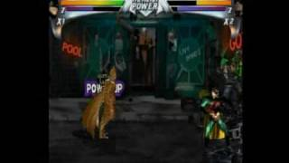 Batman Forever Arcade Playthrough Co-op (Sega Saturn Version) Part 1