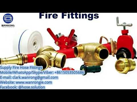 Fire Hose Fittings Supplier - What Is Firefighting Equipment, Hydrant Adapters, Storz Fittings