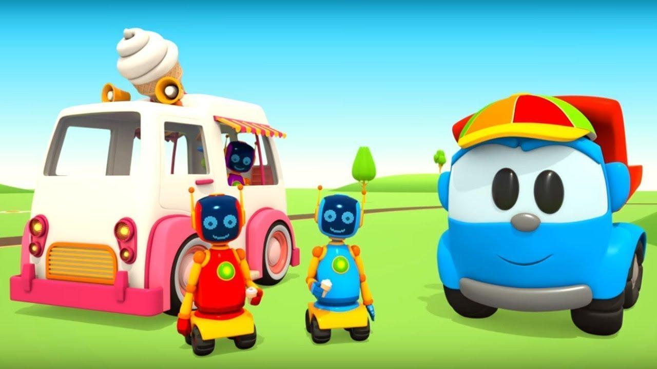Download Çizgi film. Leo ve dondurma arabası. Çocuklar için video.