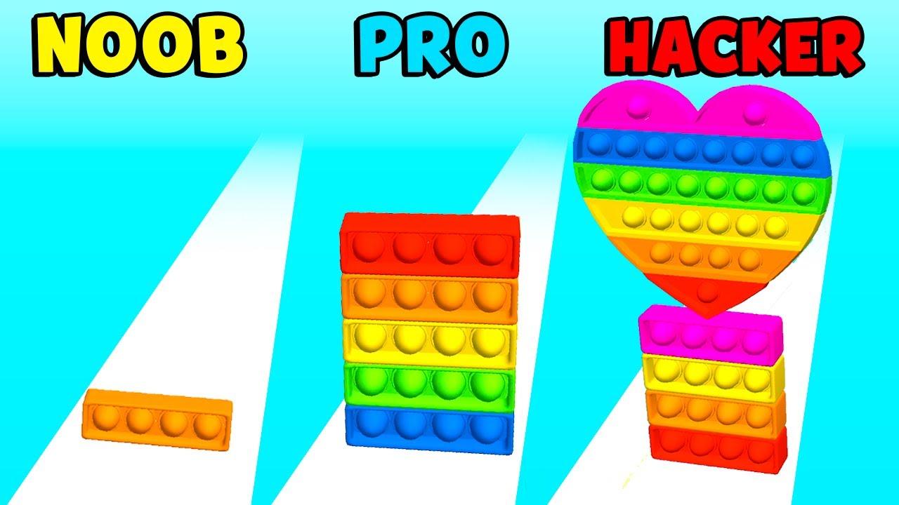 NOOB vs PRO vs HACKER - Fidget Rush