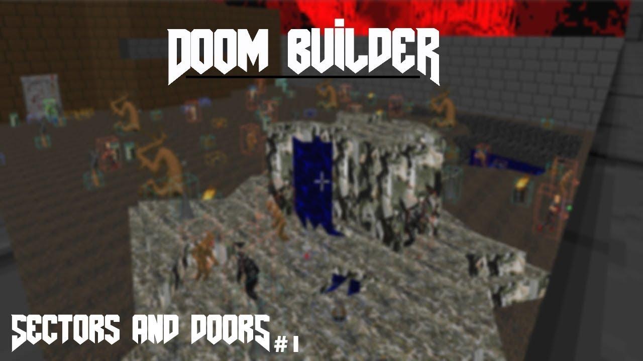 GZDoom Builder   SECTORS AND DOORS   DOOM Level Design #1