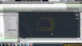 Civil 3D 2014 (9/12): Excavación Inclinada y Plataforma con Pendiente thumbnail