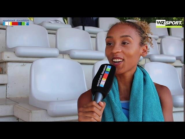 Djamila Böhm peilt bei Leichtathletik-DM eine Medaille an