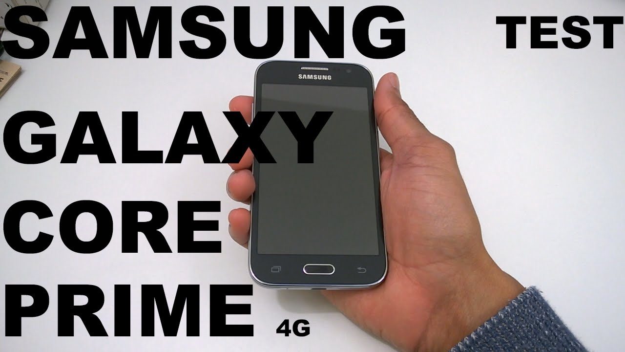 Test Samsung Galaxy Core Prime 4g Review Youtube