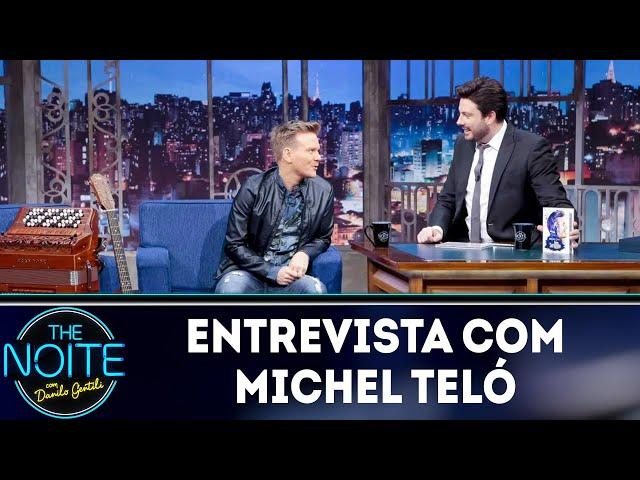 Melhores momentos 2018: Michel Teló   The Noite (26/02/19)