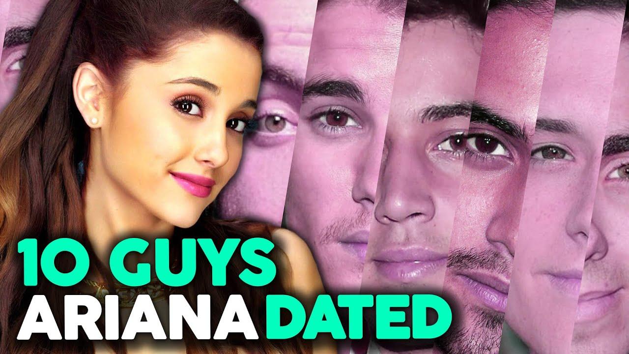 """10 Guys Ariana Grande Has """"Dated"""" - YouTube"""