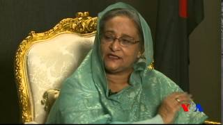 Bangladesh Prime Minister's exclusive Interview with VOA Bangla