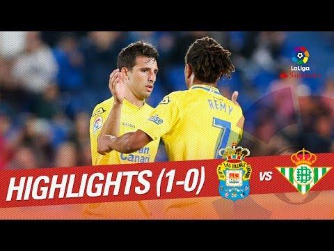 Resumen de UD Las Palmas vs Real Betis (1-0)