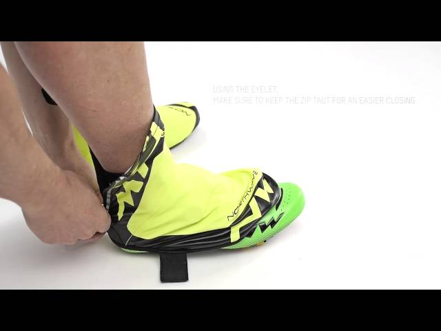 How to fit your H2O overshoe