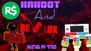 🔴ROBUXS GIVEAWAY/Kahoot And Roblox Live Stream #67🔴COME JOIN AND HAVE FUN-CONTINUED