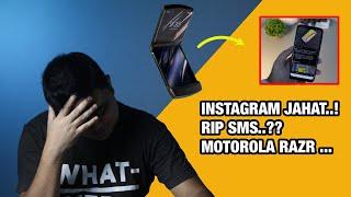 Technow #35: Instagram Jahat! RIP SMS? Huawei Mate X Ternyata..! Facebook Pay, Motorola Razr, dsb