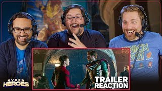 Spider-Man: Far From Home | Official Trailer Reaction
