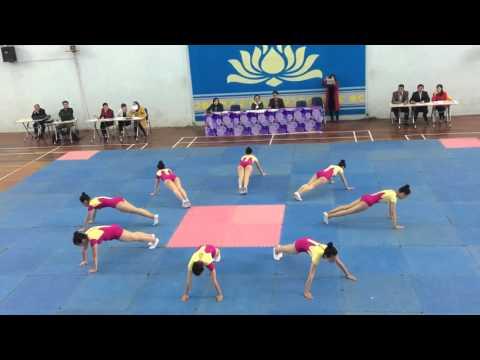 Chuyên Lam Sơn_Bài quy định cấp 3 Aerobics