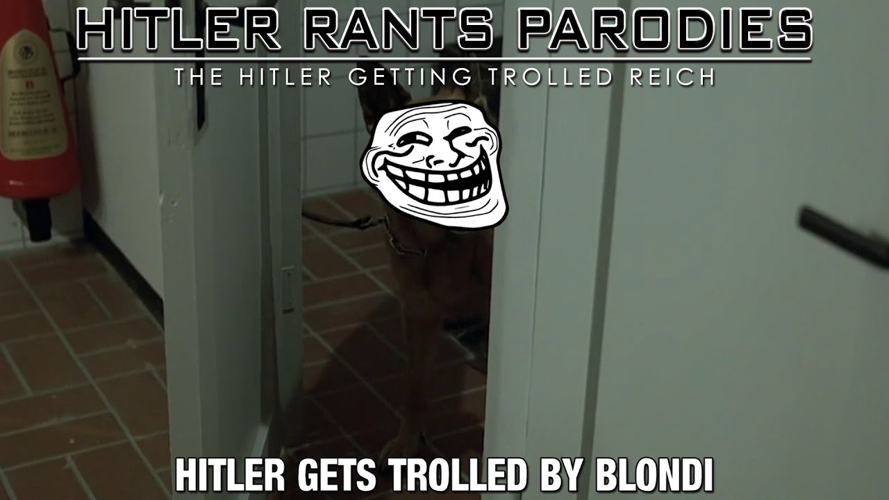 Hitler gets trolled by Blondi