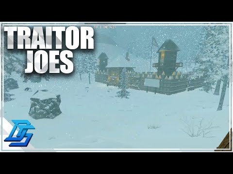 TO TRAITOR JOES , The Trader Fortress - 7 Days to Die - Alpha 16 - Part 9