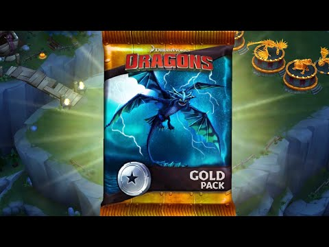 The New GOLD PACK- Dragons:Rise of Berk
