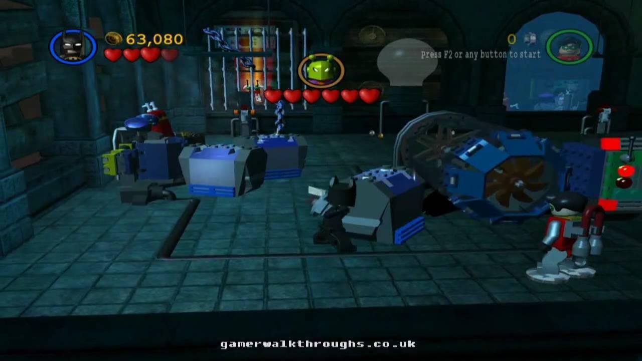 Lego batman walkthrough - In the dark night 2/2 - YouTube