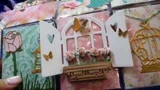 Garden Tea Party Pocket letter for Ofelia