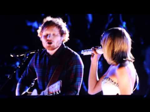 Taylor Swift & Ed Sheeren// Tenerife Sea