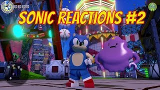 LEGO Dimensions Sonic The Hedgehog Reactions #2 - Lumpy Space Princess, Bart Simpson & Homer Simpson