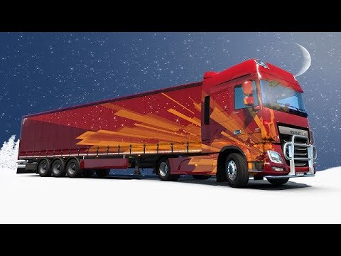 #roadto700  ETS2 International Christmas Gifts Delivery Event 2018