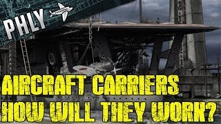 War Thunder Ships- How Will Aircraft Carriers Work - Navyfield Gameplay