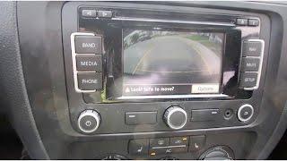 MK6 Jetta Rear View Camera Instal DIY