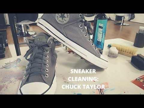 Sneaker Cleaning: Converse All-Star Chuck Taylor's