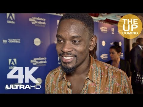 Aml Ameen  on Yardie at Sundance London 2018 premiere