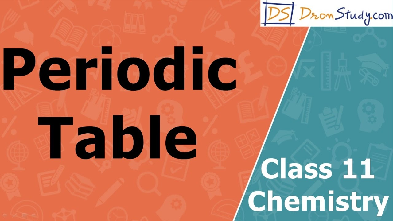 Periodic table class 11 xi chemistry cbse iit jee aipmt periodic table class 11 xi chemistry cbse iit jee aipmt urtaz Images