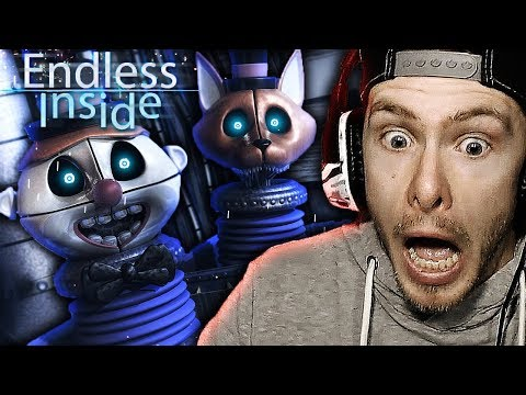 THIS IS SO FREAKIN COOL!! | Endless Inside Demo Gameplay! New FNAF SL Fan Game