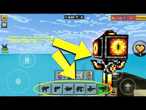 HOW TO GET GUNS IN SANDBOX!! | Pixel Gun 3D