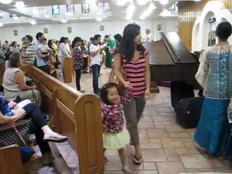 Baao Children & Youth Choir - Sunday Mass At CKCC (San Jose, CA • 08/10/2014) (4 of 6)
