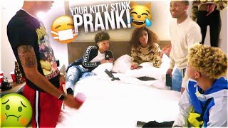 YOUR 😺  STINK PRANK ON BOUJEE COLLEGE GIRL🤢😷