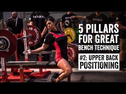 Bench Pillar #2 | Upper Back Positioning | JTSstrength