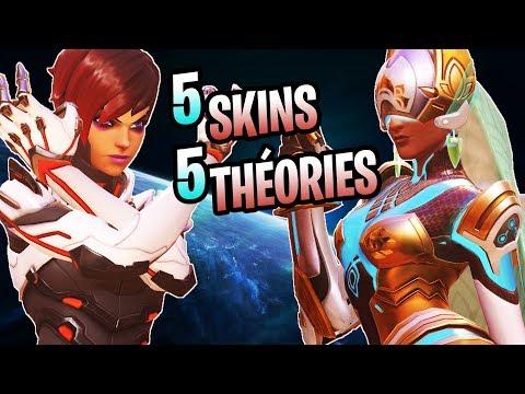 5 Théories - 5 skins ►Lore Overwatch FR thumbnail