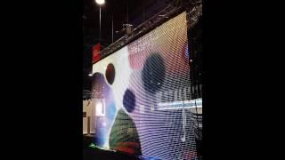 SOFT I55 светодиодный экран сетка(Светодиодный экран сетка Soft i55 от компании Lightwerk Подробнее по ссылке http://www.lightwerk.ru/svetodiodnyie-ekranyi-i-led-mediafasadyi/svetod..., 2014-06-03T13:31:49.000Z)