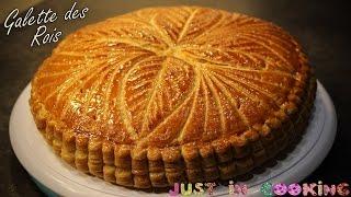 Aujourd'hui je vous propose la recette de la galette des rois garni...