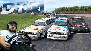 Лютый пот в мощной онлайн-гонке на легендарных авто DTM1992 в RaceRoom Racing Experience