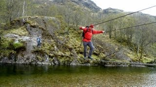 Glen Nevis & Steall Falls, West Highlands - 18 May 2013
