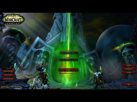 Legion - Updated Login Screen and Music