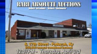 Rare Auction Group - Benton Road & South 17th Street, Paducah, Ky 04/03/14