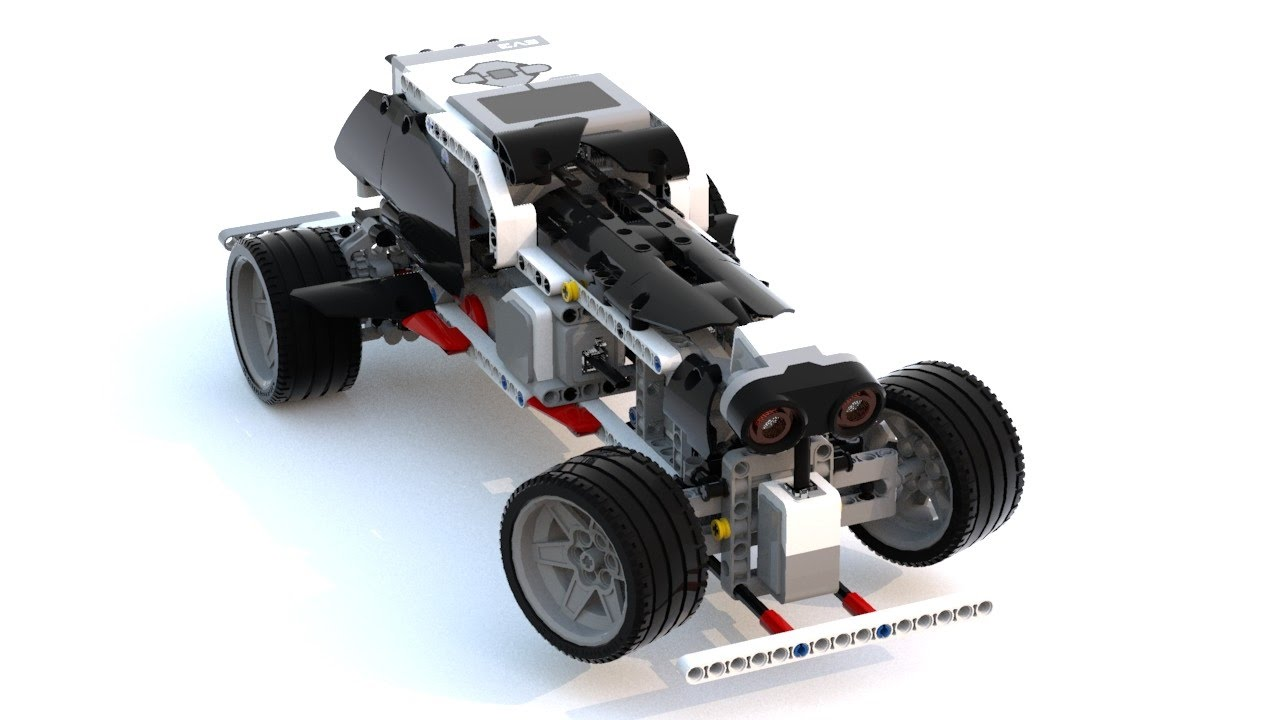 LEGO Education EV3 self-driving RoboCar 45544+[45560 ...