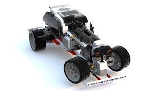 LEGO Education EV3 self-driving RoboCar [45544]+[45560]