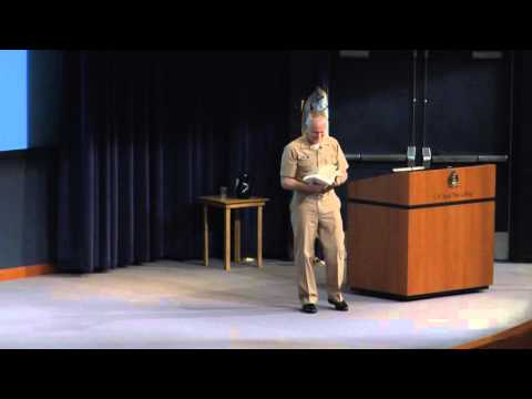 Ethics 2016 | Rear Adm. P. Gardner Howe III: The Navy Profession