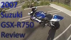 2007 Suzuki GSXR 750 Review