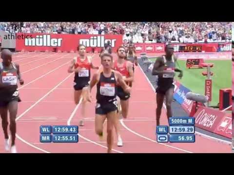 Mo FARAH 12:59.29 WL wins 5000m - Diamond League London 2016