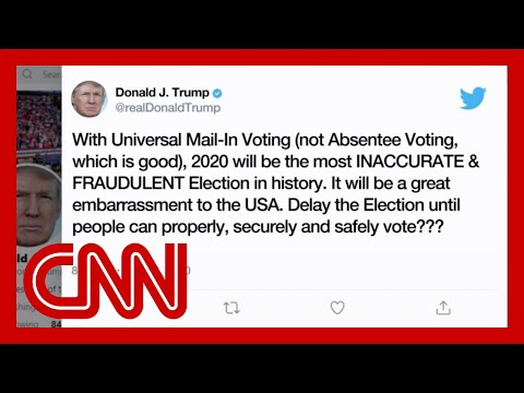 Trump floats delaying election despite lack of authority to do so
