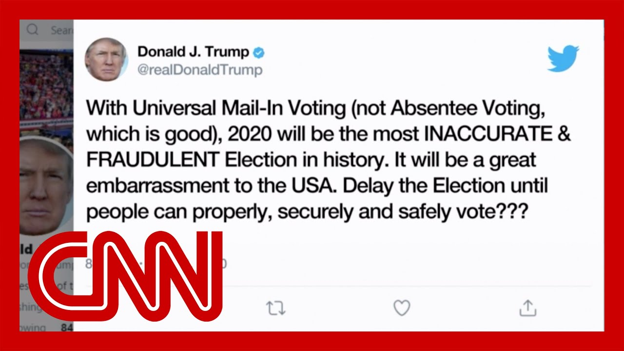 Trump floats delaying election despite lack of authority to do so ...