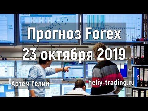 Прогноз форекс на 23.10.2019